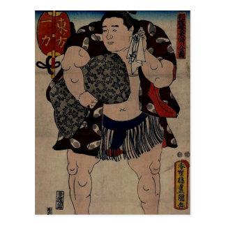 Luchador Ichiriki del sumo Postal