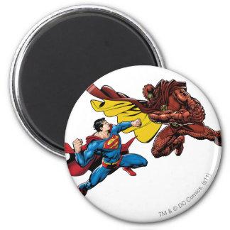 Luchas del superhombre iman para frigorífico
