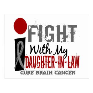 Lucho con mi cáncer de cerebro de la nuera postal