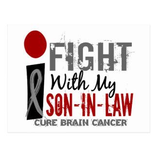 Lucho con mi cáncer de cerebro del yerno postales