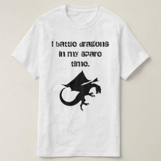 Lucho dragones camiseta