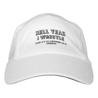 Lucho sí y es gorra impresionante gorra de alto rendimiento
