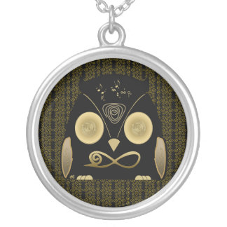 Luck Owl!! eXi Colgante Redondo