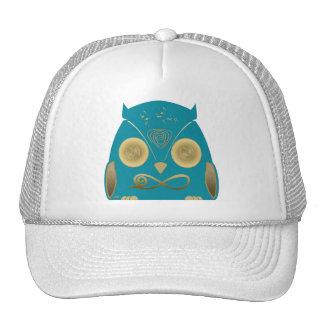Luck Owl!! eXi Gorros Bordados