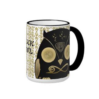 Luck Owl!! eXi Taza De Café