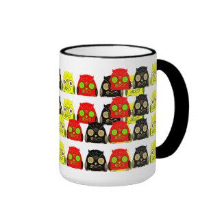 Luck Owl!! Taza De Café