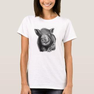 Lucy el cerdo de la maravilla camiseta