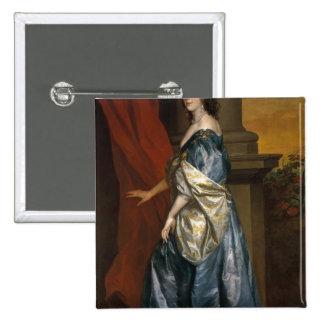 Lucy Percy, condesa de Carlisle c.1637 Chapa Cuadrada 5 Cm