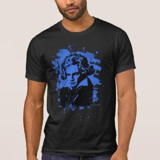 Ludwig Van Beethoven tributo (blue) Camiseta