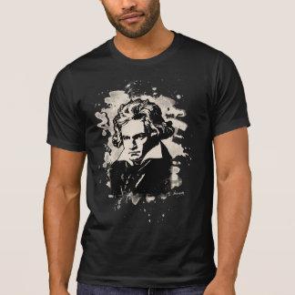 Ludwig Van Beethoven tributo (white) Camiseta