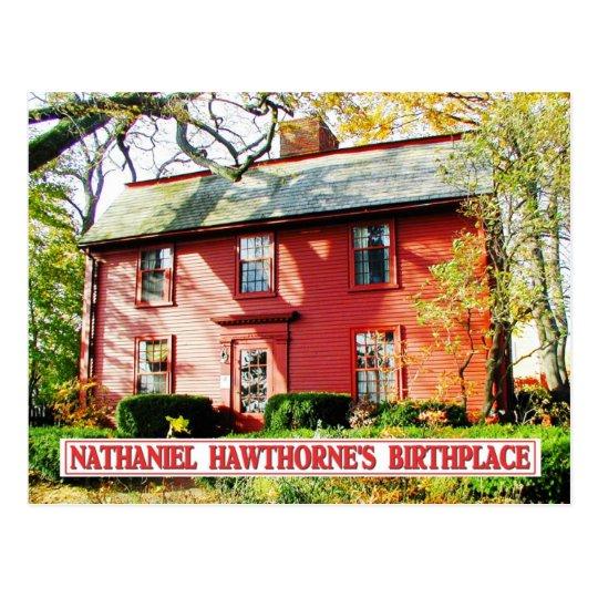 Lugar de nacimiento de Nathaniel Hawthorne, Salem, Postal