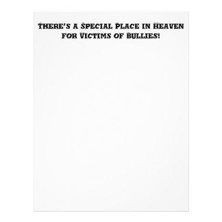 Lugar especial en el cielo para las víctimas de folleto 21,6 x 28 cm