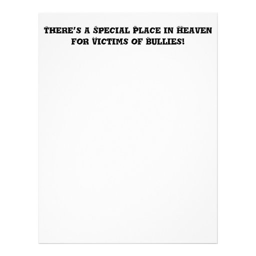 Lugar especial en el cielo para las víctimas de ma flyer personalizado