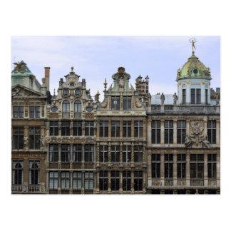 Lugar magnífico, postal de Bruselas