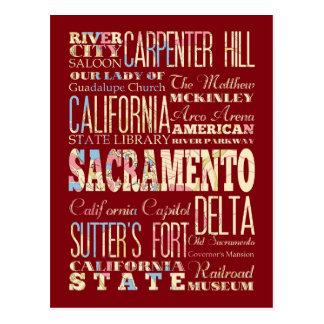 Lugares famosos de Sacramento, California Postal