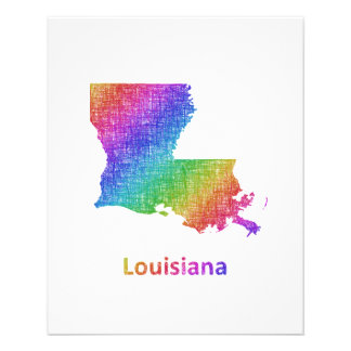 Luisiana Folleto 11,4 X 14,2 Cm