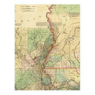 Luisiana y Mississippi Tarjetas Postales