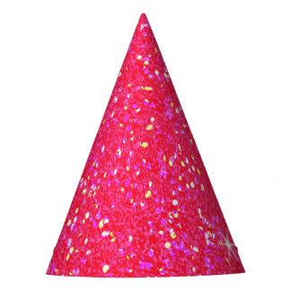 Lujo brillante del diamante gorro de fiesta