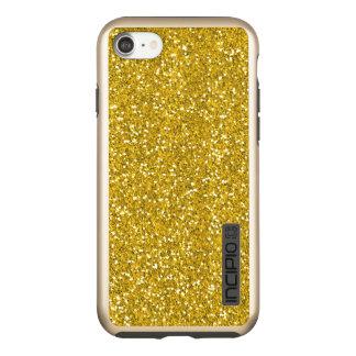 Lujo con clase de la mirada del brillo del oro funda DualPro shine de incipio para iPhone 7