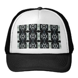 Lujo del metal gorras de camionero
