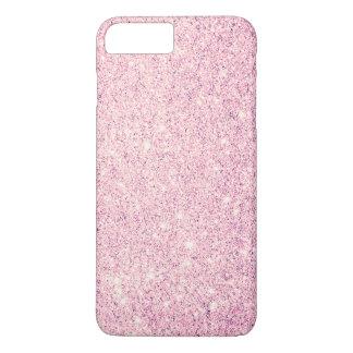 Lujo rosado elegante del brillo funda iPhone 7 plus