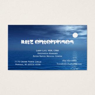 Luna 1 tarjeta de negocios
