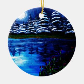 Luna Ornaments Para Arbol De Navidad