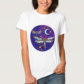 luna de la libélula camiseta
