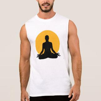 Luna de la meditación camisetas sin mangas