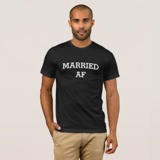 luna de miel casada del af camiseta