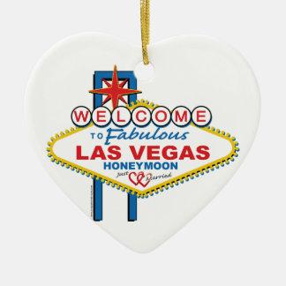 Luna de miel de Las Vegas Adornos