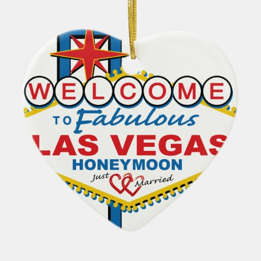 Luna de miel de Las Vegas retra Adorno Para Reyes