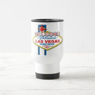 Luna de miel de Las Vegas Taza De Viaje