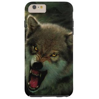 Luna del lobo funda resistente iPhone 6 plus