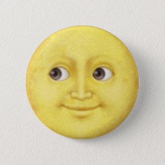 Luna Emoji Chapa Redonda De 5 Cm