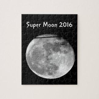 ¡Luna estupenda con el paso/personalizable del Puzzle