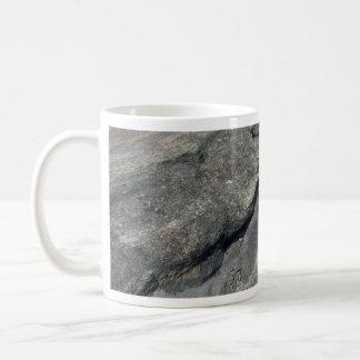 Luna ilustrativa del granito tazas de café