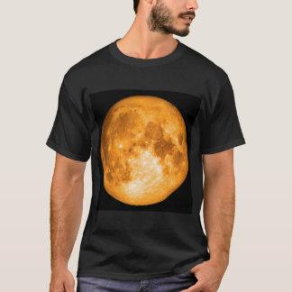 Luna Llena anaranjada Camiseta