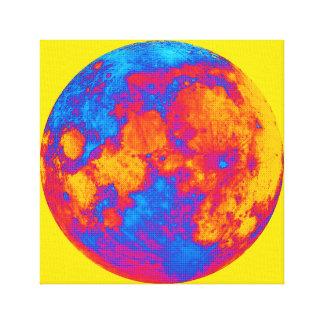 Luna Llena del arte pop