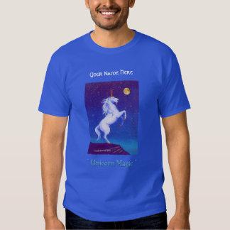 Luna Llena del unicornio Camisetas
