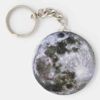Luna Llena Keychain Llaveros Personalizados