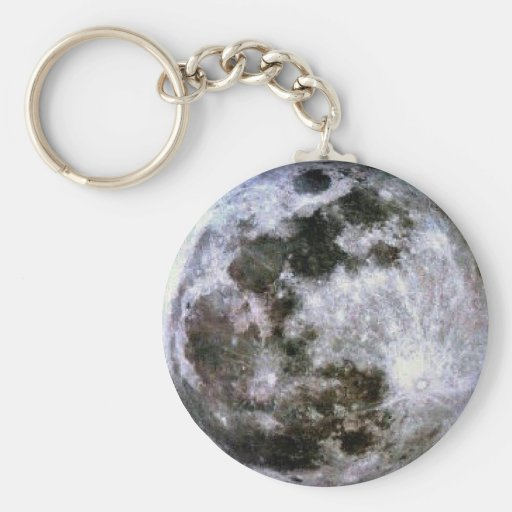 Luna Llena Keychain. Llaveros Personalizados