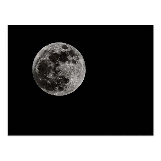 Luna llena postal