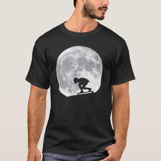 Luna longboarding camiseta