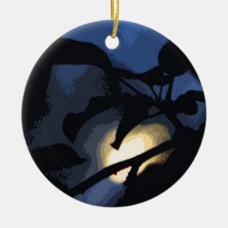 Luna misteriosa ornamentos de reyes magos