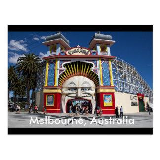 Luna Park postal de Melbourne, Australia