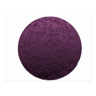 Luna púrpura postal