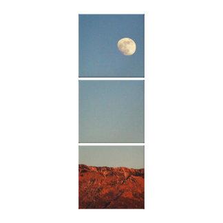 Luna sobre Sandias Lienzo