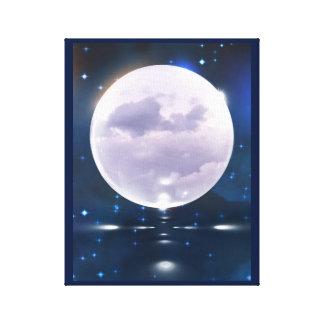 Luna tempestuosa lienzo