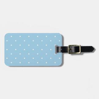 Lunar del azul de cielo del estilo de los años 50 etiquetas para maletas